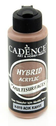 Cadence Cadence Hybride acrylverf (semi mat) Lichtbruin 01 001 0019 0120  120 ml