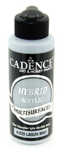 Cadence Cadence Hybride acrylverf (semi mat) Lagoon blue 01 001 0039 0120  120 ml