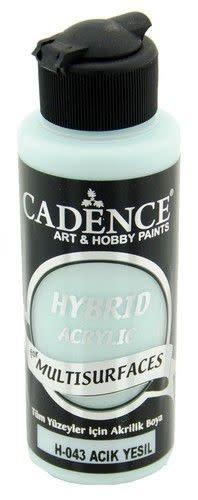 Cadence Cadence Hybride acrylverf (semi mat) Licht groen 01 001 0043 0120 120 ml (07-20)