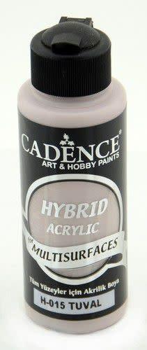 Cadence Cadence Hybride acrylverf (semi mat) Natural canvas 01 001 0015 0120  120 ml