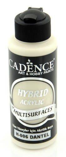 Cadence Cadence Hybride acrylverf (semi mat) Old Lace 01 001 0006 0120  120 ml