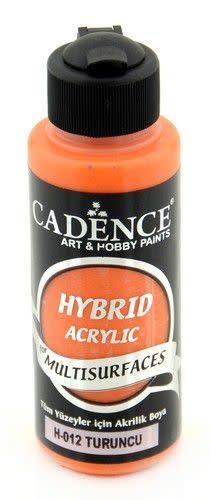Cadence Cadence Hybride acrylverf (semi mat) Oranje 01 001 0012 0120  120 ml