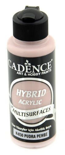 Cadence Cadence Hybride acrylverf (semi mat) Poederroze 01 001 0030 0120  120 ml