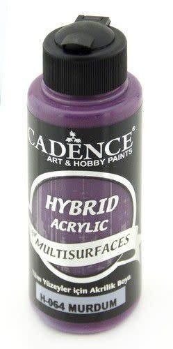 Cadence Cadence Hybride acrylverf (semi mat) Pruim 01 001 0064 0120  120 ml