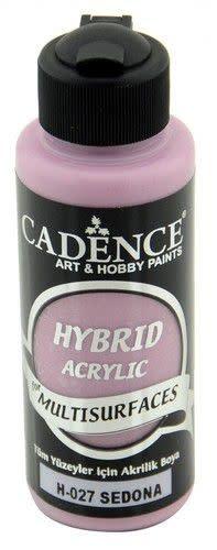 Cadence Cadence Hybride acrylverf (semi mat) Sedona bruin 01 001 0027 0120 120 ml (07-20)