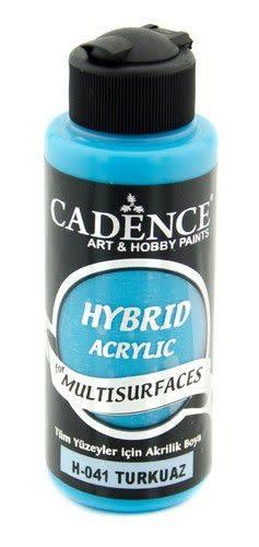 Cadence Cadence Hybride acrylverf (semi mat) Turquiose 01 001 0041 0120  120 ml