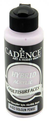 Cadence Cadence Hybride acrylverf (semi mat) Vervaagd roze 01 001 0023 0120 120 ml (07-20)