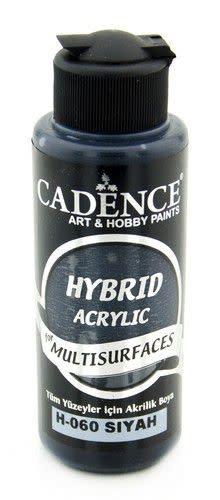 Cadence Cadence Hybride acrylverf (semi mat) Zwart 01 001 0060 0120  120 ml