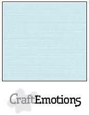 CraftEmotions CraftEmotions linnenkarton babyblauw 30,0x30,0cm / LC-35