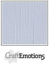 CraftEmotions CraftEmotions linnenkarton  diamant wit 30,0x30,0cm / LC-100