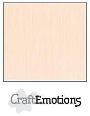 CraftEmotions CraftEmotions linnenkarton creme 30,0x30,0cm / LC-17