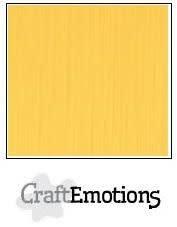 CraftEmotions CraftEmotions linnenkarton goudgeel 30,0x30,0cm / LC-22
