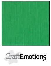 CraftEmotions CraftEmotions linnenkarton  grasgroen 30,0x30,0cm / LC-27