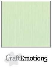 CraftEmotions CraftEmotions linnenkarton  groen 30,0x30,0cm / LC-09