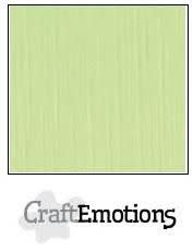 CraftEmotions CraftEmotions linnenkarton kiwi 30,0x30,0cm / LC-21