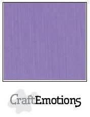 CraftEmotions CraftEmotions linnenkarton  lavendel 30,0x30,0cm / LC-20