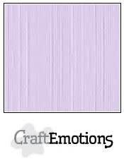 CraftEmotions CraftEmotions linnenkarton lavendel-pastel 30,5x30,5cm / LC-59