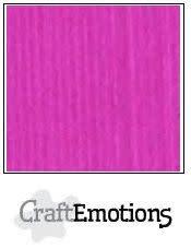 CraftEmotions CraftEmotions linnenkarton  Koraalmagenta 30,0x30,0cm / LC-53