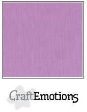CraftEmotions CraftEmotions linnenkarton  lila 30,0x30,0cm / LC-33