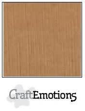 CraftEmotions CraftEmotions linnenkarton  mokka 30,0x30,0cm / LC-28