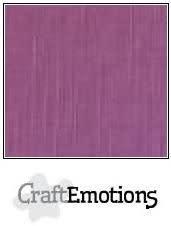 CraftEmotions CraftEmotions linnenkarton purper 30,0x30,0cm / LC-13