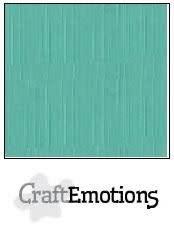 CraftEmotions CraftEmotions linnenkarton  saliegroen pastel 30,5x30,5cm / LC-29