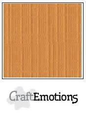 CraftEmotions CraftEmotions linnenkarton  toffee 30,0x30,0cm / LC-91