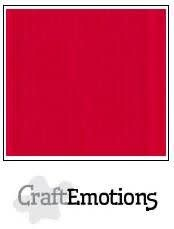 CraftEmotions CraftEmotions linnenkarton vuurrood 30,0x30,0cm / LC-66