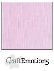CraftEmotions CraftEmotions linnenkarton  zacht lila 30,5x30,5cm / LC-19