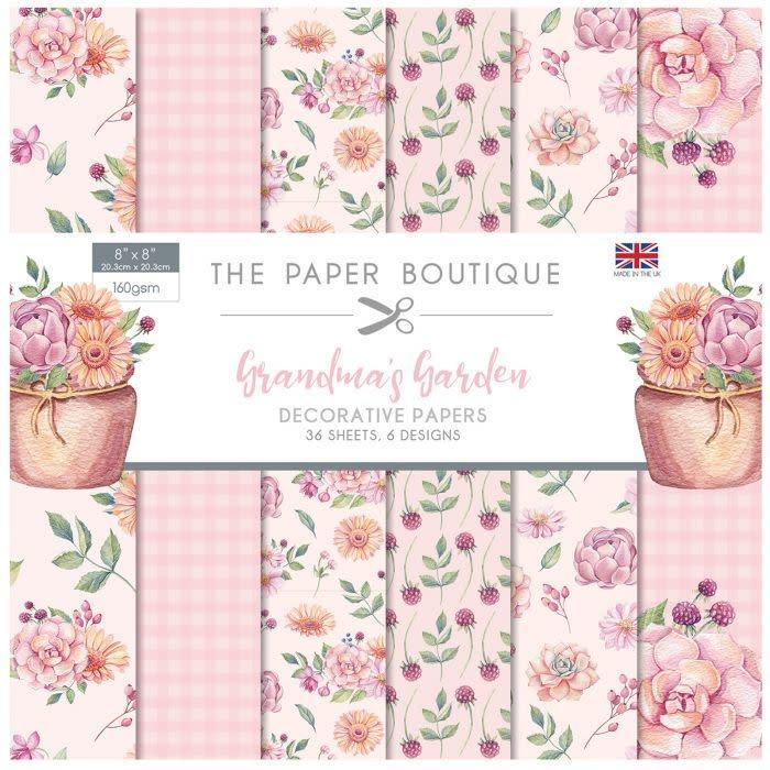 Paper boutique Paper Boutique • Grandma's garden 20.3x20.3cm paper pad