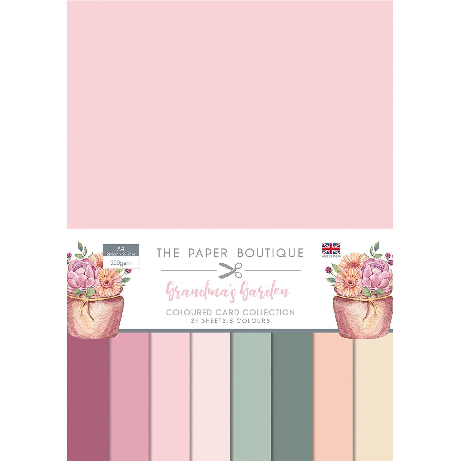 Paper boutique Paper Boutique • Grandma's garden colour card collection