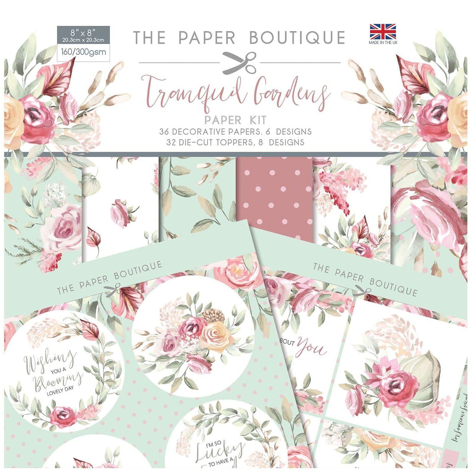 Paper boutique Paper Boutique • Tranquil gardens Paper kit