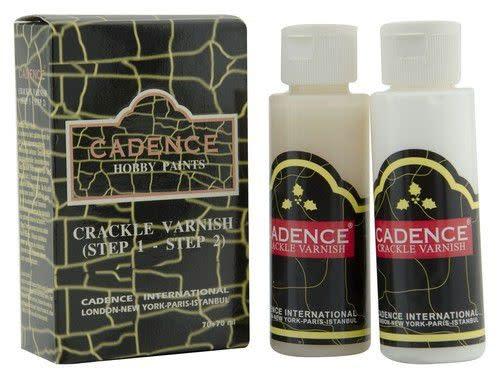 Cadence Cadence crackle vernis (transparent crackle) set