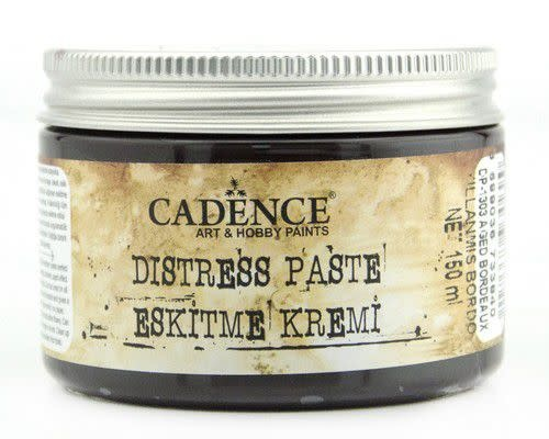 Cadence Cadence Distress pasta oud bordeaux