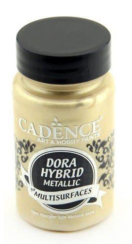 Cadence Cadence Dora Hybride metallic verf Champaigne