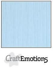 CraftEmotions papier a4 linnenkarton azuurblauw