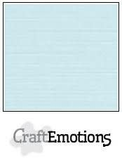 CraftEmotions papier a4 linnenkarton babyblauw