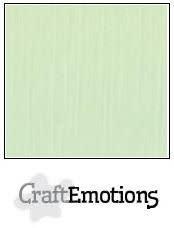 CraftEmotions papier a4 linnenkarton groen