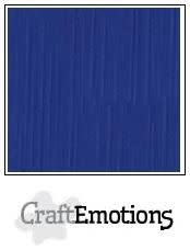 CraftEmotions papier a4 linnenkarton hemelsblauw