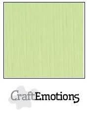 CraftEmotions papier a4 linnenkarton kiwi
