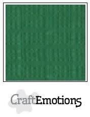 CraftEmotions papier a4 linnenkarton loofgroen