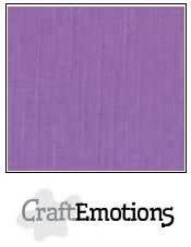 CraftEmotions papier a4 linnenkarton paars