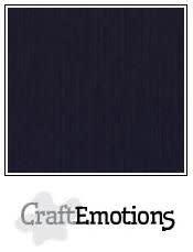 CraftEmotions papier a4 linnenkarton zwart