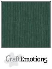 CraftEmotions papier a4 linnenkarton smaragdgroen