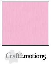 CraftEmotions papier a4 linnenkarton roze