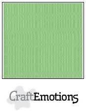 CraftEmotions papier a4 linnenkarton pistache