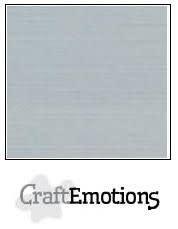 CraftEmotions papier a4 linnenkarton grijs