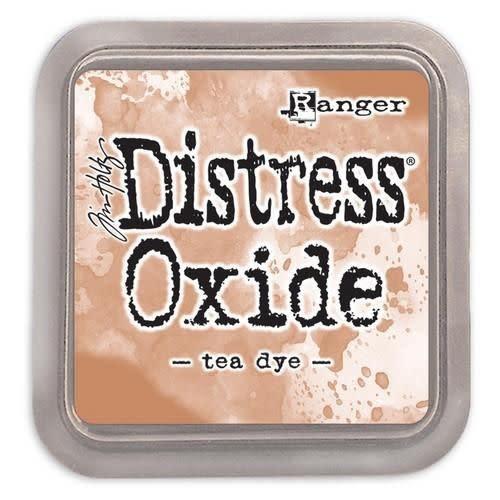 Ranger Distress oxide Tea dye
