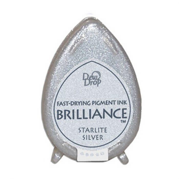 Brilliance Brilliance Dew Drop inktkussen Starlite Silver