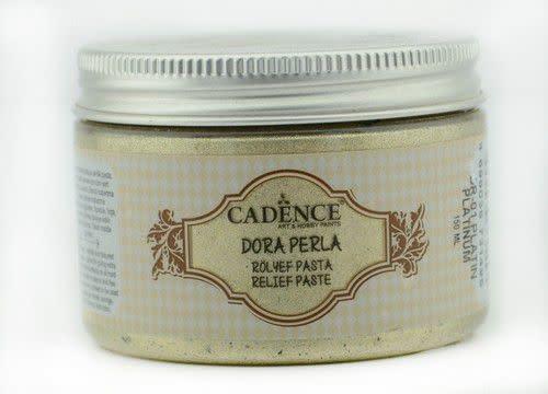 Cadence Cadence Dora Perla Met. Relief Pasta Platinum